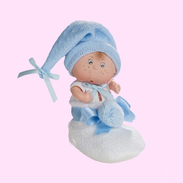 Ref. 0223 – Patuquet gorrito lana azul